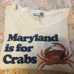 "Wildfox ""Maryland is for Crabs"" Tee"